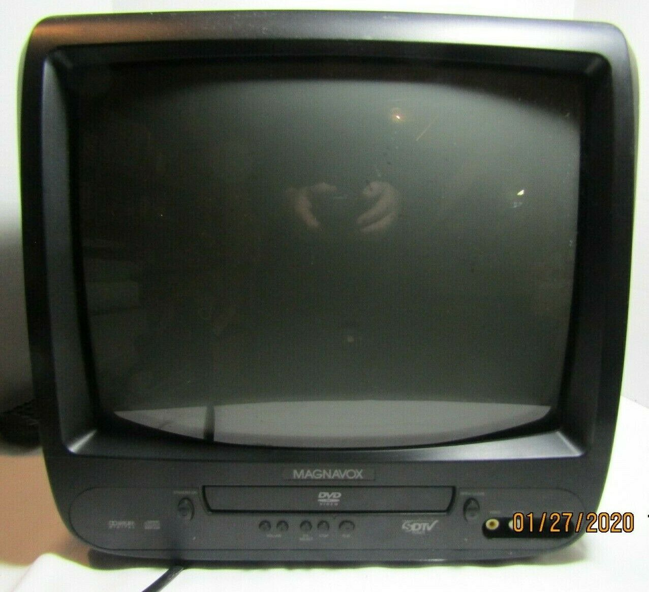 magnavox tv-dvd combo- cd130mw9 with remote/ great for retro gaming