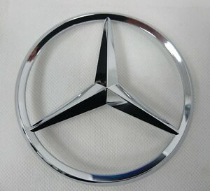 Genuine mercedes benz w164 ml gl rear boot emblem star for Mercedes benz star emblem