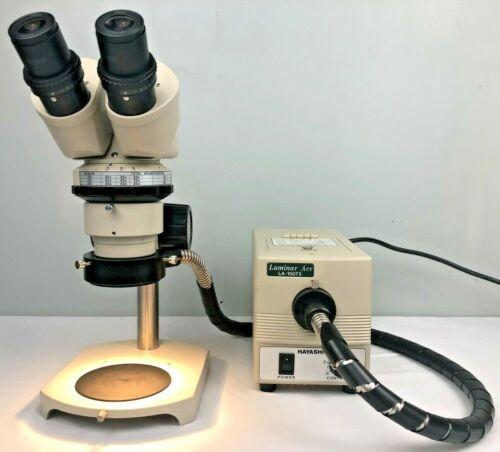 Nikon SMZ Stereo microscope w/ light source, 40x magnification, tested, warranty