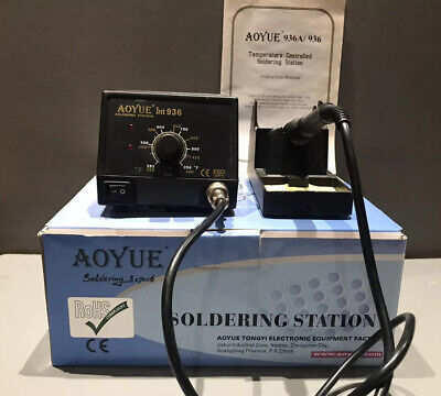 Aoyue Int 936 Temperature Controlled Soldering Station - 100-130v