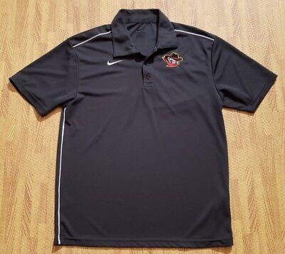 a7563d395 Quad City River Bandits Nike Dri-Fit Polo Shirt ~ Men s Medium M ~ Gray  Astros