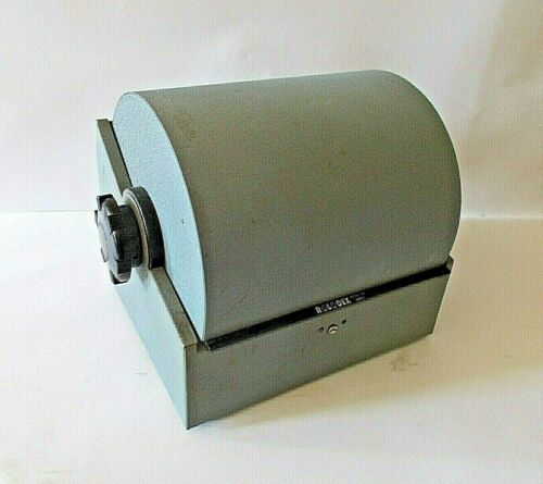Vintage JUMBO Double Rotary Rolodex Model 3500-T TWIN Roll-Top Card File