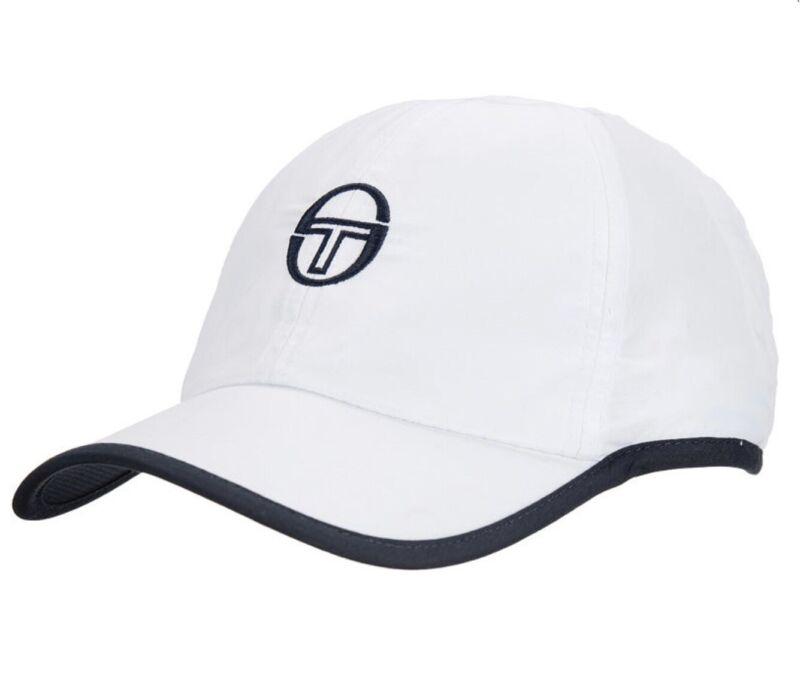 Sergio Tacchini White Baseball Cap - Tennis - McEnroe - Casuals - Wimbledon