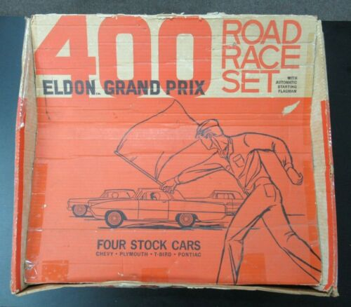 Vintage 1968 Eldon Grand Prix 400 Road Race Set
