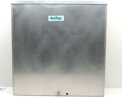 Gentran R301060 Raintight Outdoor Manual Transfer Switch 30a 120240v 10-circuit