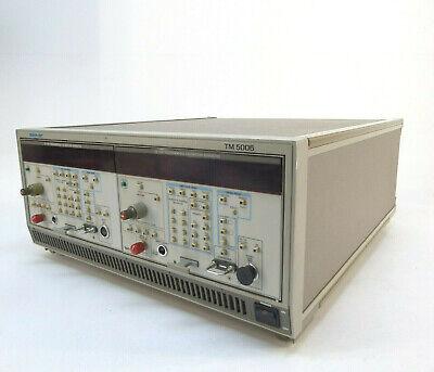 Tektronix Tm5006 Mainframe W Two Cg 5001 Modules - Options 02