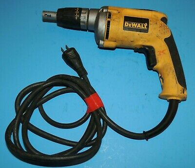Dewalt Dw272 6.3amp Vsr Electric Drywall Screwdriver
