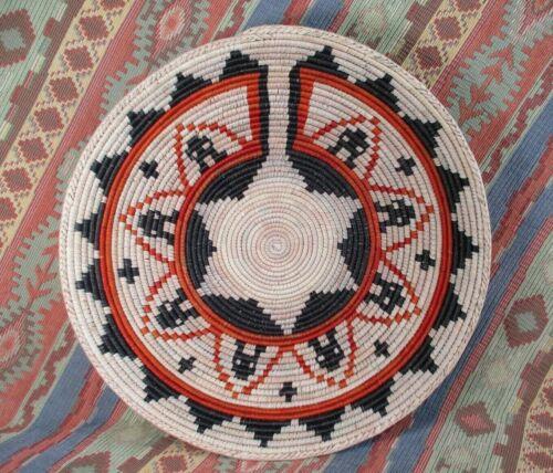 Southwestern Style Basket   Large Size Basket  Southwest Wall Decor   14 inches