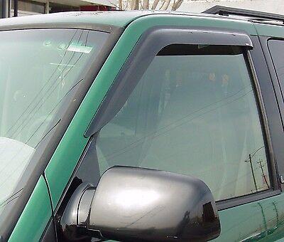 1982 - 1993 Chevrolet S-10 Pickup 2-Piece Tape-On Wind Deflector Shades Chevrolet S10 Pickup 2 Piece