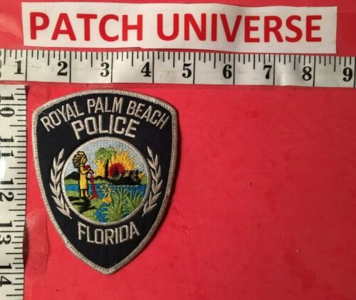 ROYAL PALM BEACH FLORIDA POLICE  DEFUNCT  SHOULDER  PATCH  G092