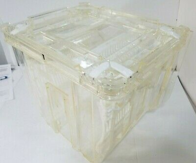 Kakazaki Wafer Carrier Storage Case Bottom Ktl-3002 Rev.11 And Top Ktb-3002b