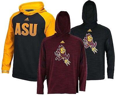 adidas NCAA Official Arizona State University Sun Devils Team Men's Hoodie Ncaa Arizona State University