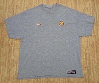 Minnesota Golden Gophers Mission Dangle Pro Athletic Shirt   Mens Xl   Gray