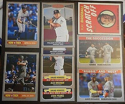 PiCk 2019 tOPPS hERITAGE - SP iNSeRtS - TAN NAP SCRATCH OFF fLaShbaCk hN TN -