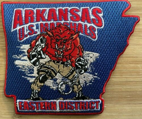 US Marshals Service - ED of Arkansas SecondGEN FC - Genuine *Kokopelli Patch*