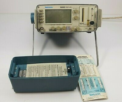 Tektronix 1502c Metallic Tdr Cable Tester Tdr Good Working
