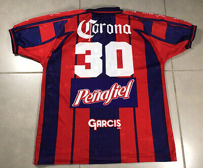 VTG 1999 Mens GARCIS Club Atlante Potros #30 Sz XL jersey Soccer futbol mexico image