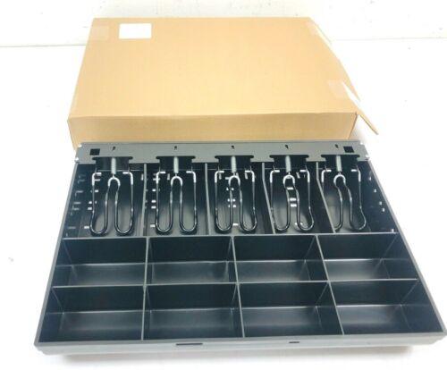 """APG 100 Series Cash Drawer Till 5 Bill 8 Coin PK-15TA-MI-BX 15.7""""x11.4""""x2.5"""" NEW"""