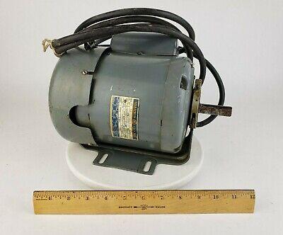 Marathon Electric Motor - 13 Hp 1725 Rpm 1 Ph 115220 Atlas Milling Machine