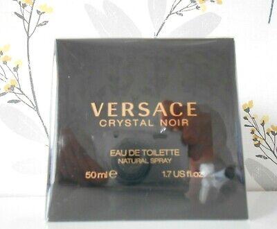 Versace Crystal Noir Eau De Toilette 50ml BNIIB Cellophane Sealed