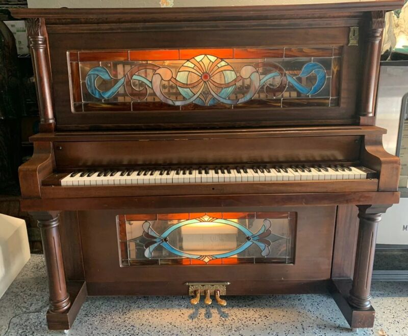 Ragtime Player Pianos Coin-Op Nickelodeon Upright Piano