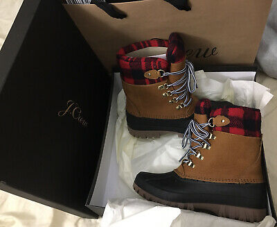 J. Crew The Perfect H1891 Winter Boots Sz.8Usa,38.5 Eur Nwb Glazed Pecan
