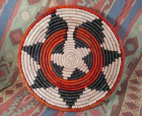 Southwestern Style Basket    Medium Size Wedding  Basket     over 8 inches