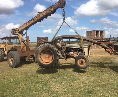 Wanted old tractor,dozer or crawler Mackay Mackay City Preview