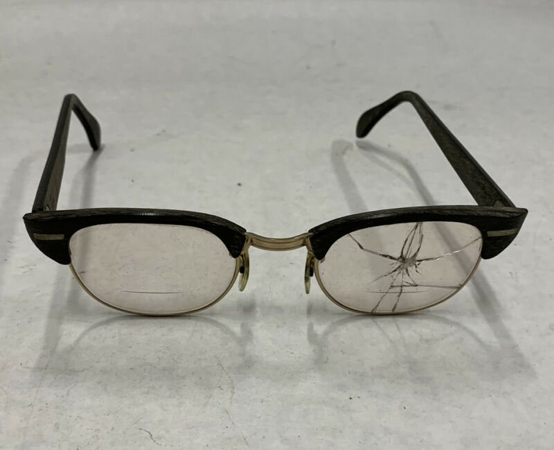 Universal Optical (UOC) Hipsters 12k Gold Fill GF True Great Look Malcom X Style