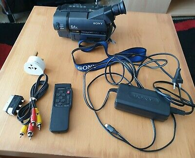 Sony Handycam Vision CCD-TRV15E PAL Video8 XR 8mm camcorder needs new battery