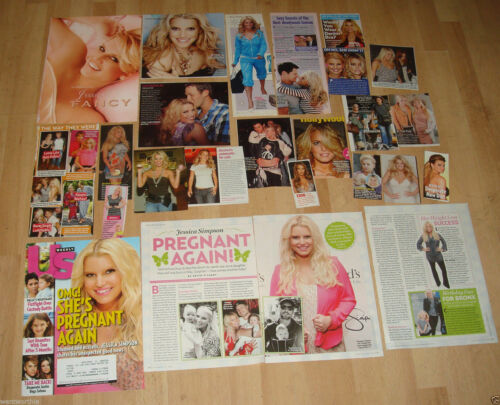 Jessica Simpson Promo Ads & Clippings
