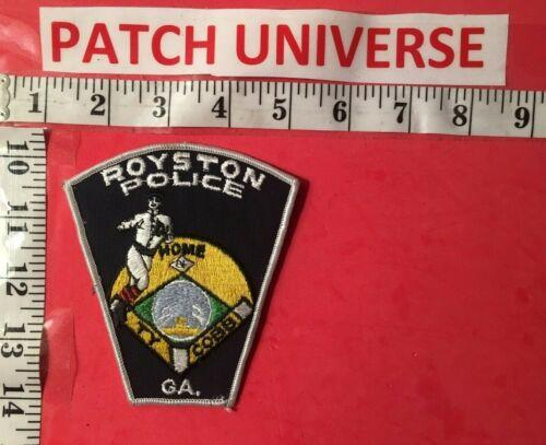 ROYSTON GA POLICE TY COBB  SHOULDER PATCH  M097