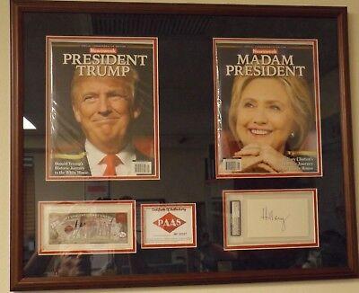 President Donald Trump, Madam President Magazine Collectors Set / Signatures COA