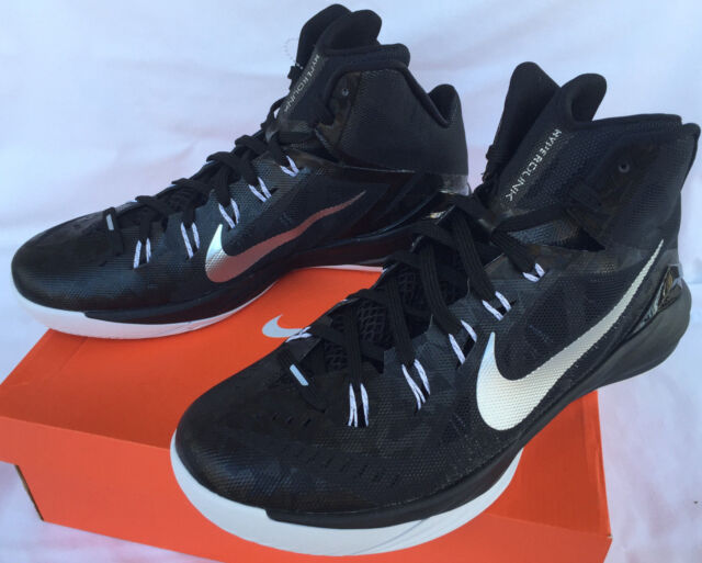 fb56ea994f38 ... Metallic Silver nike hyperdunk 2014 black new Nike Hyperdunk TB 2014  Black 653484-001 Basketball Shoes Womens 13.5 NCAA ...