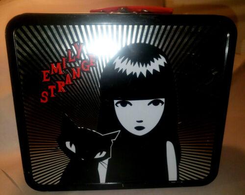 Emily the Strange ESP 2004 RARE Metal Lunch Box I