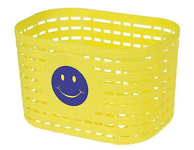Lenkerkorb Kunststoffkorb Fahrradkorb Tasche in Gelb mi… |
