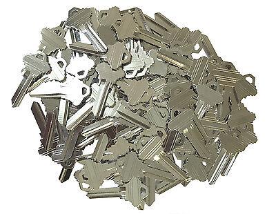 100 Pieces Blank Schlage 5 Pin Sc1 Keys Locksmith Kits Key Pins