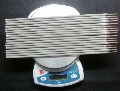 "USA HardFacing 57-60RC 12Oz Chromium Carbide Coating 17 Electrodes Rods 3/32""X10"