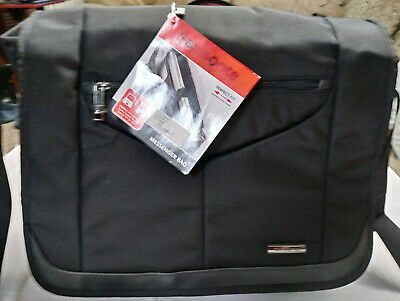 "Samsonite Premium Perfect Fit 15.6"" Laptop Tablet Case Messenger Bag NWT $180"