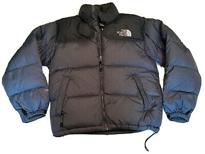 The North Face 700 Goose Down Puffer Jacket Coat Mens Small Gray