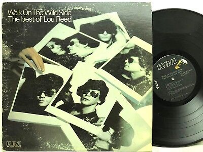 Lou Reed - Walk On The Wild Side: The Best of Lou Reed LP Vinyl Record (Best Lou Reed Albums)