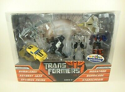 "Hasbro Transformers Legends Class Prime Jazz Starscream 6 Pack 3"" EXCLUSIVE"