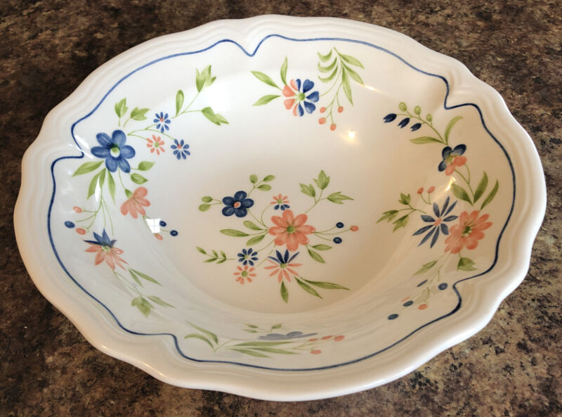 """Vintage Sears Country French Ironstone vegetable bowl, 9 1/4"""""""