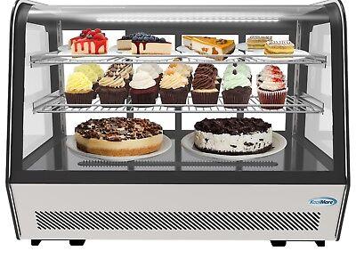 Countertop 35 Commercial Refrigerator Display Case Merchandiser 5.6 Cu. Ft