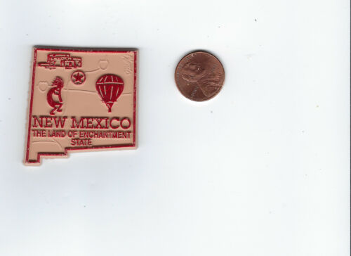 NEW MEXICO    STATE   OUTLINE MAP MAGNET, NEW   THE LAND OF ENCHANTMENT