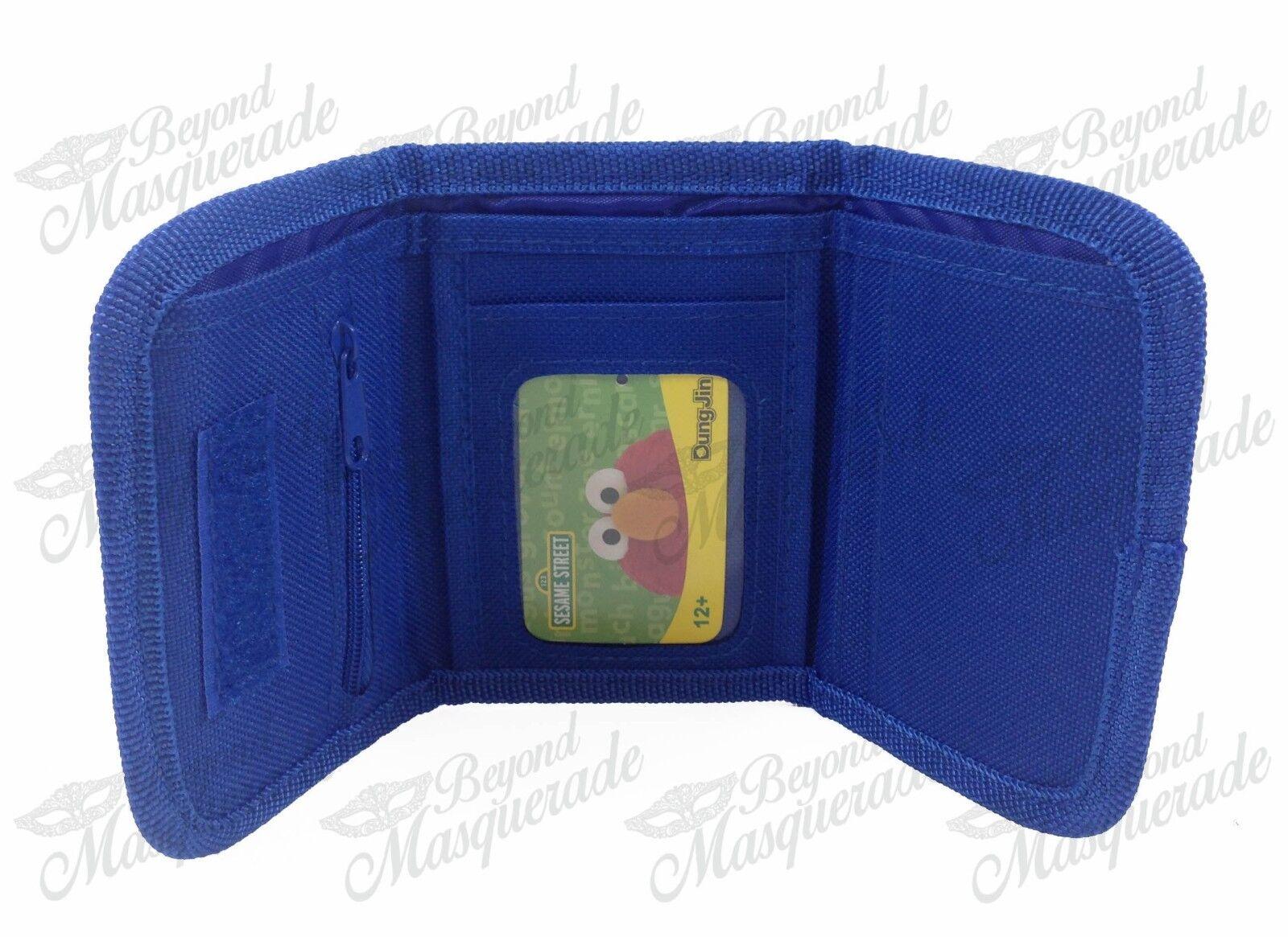 Elmo Teen Boys Tri-Fold Wallet - Blue | eBay
