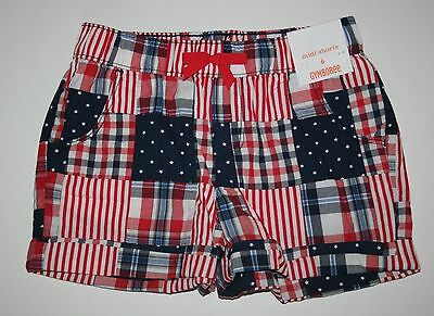 h Patchwork Midi Shorts Size 6 Jahr Nwt Rot Weiß & Süß USA (4. Juli Shorts)