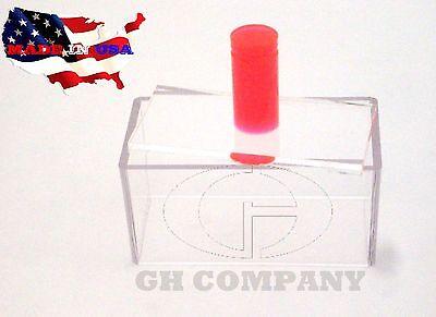 - Red Round Rod Handle Single Acrylic Press Spam Musubi Non Stick Sushi Maker SALE