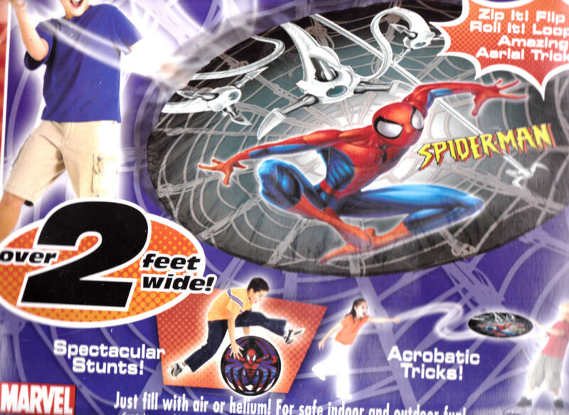 "Spider Man Trick Hover Disc ""Spidey Sense"" by Overbreak"