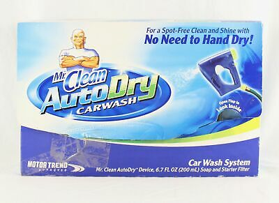 Mr Clean Auto Dry Car Wash System Starter Set Kit BRAND NEW Dry Wash System